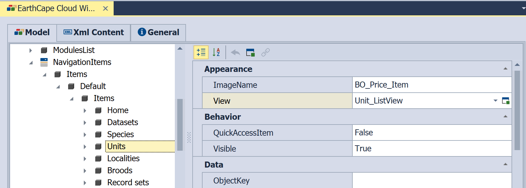 Change Field Layout and Visibility in a List View