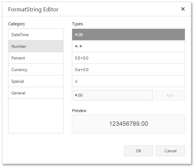 Format String Editor | EarthCape Documentation